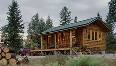 Sherpa Cabins in Thomson Falls, MT is a tiny house worth looking into. http://tinyhouseblog.com/stick-built/sherpa-cabins/
