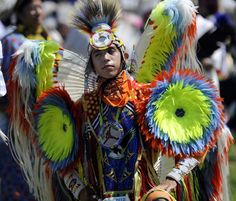 The pageantry of the annual Julyamsh Powwow - photos by Jesse Tinsley, The Spokesman-Review.