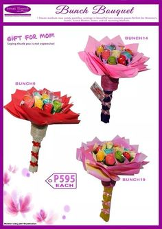 Flower Pastillas by SweetBlooms Pasta, Gifts For Mom, Candy, Rose, Tableware, Creative, Sweet, Flowers, Beautiful