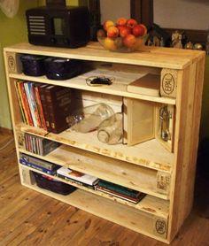 Pallet console #Cabinet, #Console, #Pallet