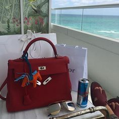 hermes bag named heather