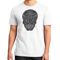 Calavera III District T-Shirt (on man)