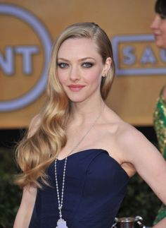 Amanda Seyfried at the 19th Annual Screen Actors Guild Awards at the Shrine Auditorium, Los Angeles