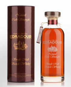 2002 Edradour 14 Year Old Cask Strength Single Malt Scotch Whisky (700ml)
