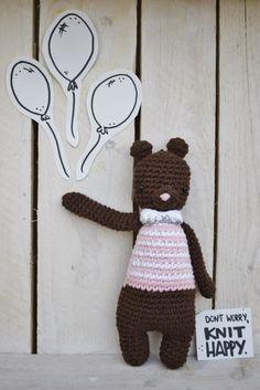 Carla  #amigurumi #bear #amigurumis #crochet #handmade #Handmadewithlove #hechoamano #fetama #crochetaddict #barcelona #bcn #dwkh #dontworryknithappy
