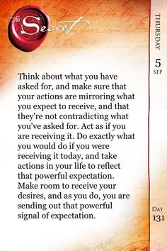 act as if!  show trust in getting what you desire and pretend you have it...the better you show your trust, the faster you manifest.