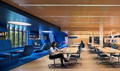Library Interior Design Award | Project Title: Julian Street Library | Project Location: Princeton University, NJ | Firm: Joel Sanders Architect, New York, NY | Category: Academic Libraries Under 30,000 SF | Award: Best of Category | @IIDA_HQ + @ALALibrary | #CRAI Spaces