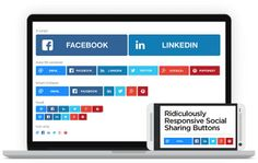 In today's world, having responsive social share buttons on your responsive website is quite essential. These buttons will enable users to share the content they like on your website with their social media network. Such social sharing will help in driving traffic to your website.