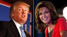 Sarah Palin endorses Donald Trump for GOP nomination #SarahPalin...