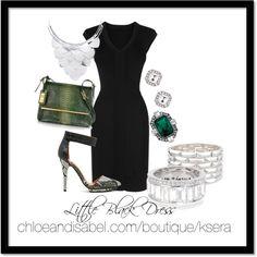 """Little Black Dress"" by glamkrissy on Polyvore"