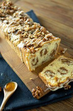 Maple Walnut, Cupcakes, Tiramisu, Banana Bread, French Toast, Baking, Breakfast, Ethnic Recipes, Desserts