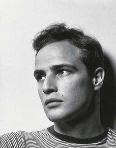 Marlon Brando by Philippe Halsman, 1950