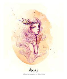 Virgo, The Virgin -12 constellation-(Arist- dou leung)