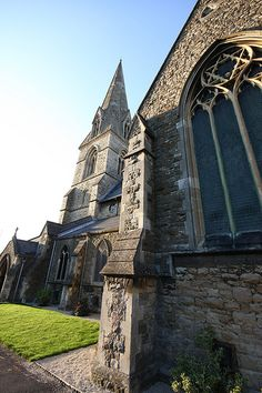 Swindon Old Town, Christ Church by Clanger's England, via Flickr