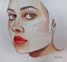Área Visual - Blog de Arte y Diseño: Las ilustraciones de Ana Santos