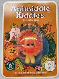 Vintage Toys - Liddle Kiddles  Animiddle Kiddles, the Lucky Lion, 1969