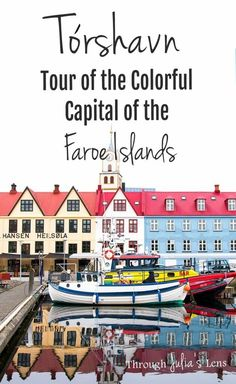 Have one day in Tórshavn? From forts to the colorful harbor, here are all the best sights to see on a tour of the capital of the Faroe Islands! Europe Travel Tips, Travel Goals, European Travel, Travel Advice, Travel Guides, Travel Destinations, Travel Abroad, Torshavn Faroe Islands, Visit Denmark