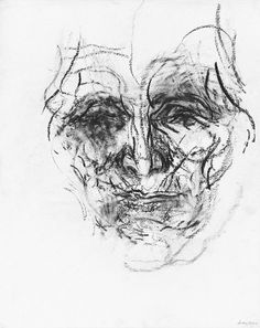 Maggi Hambling - 'My mother from memory 23.12.03', 2003