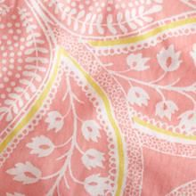 Crib Skirts: Pink Paisley Crib Skirt in Crib Skirts | The Land of Nod