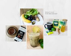 What I Like to Eat for Breakfast- Healthy Green Smoothie Recipe