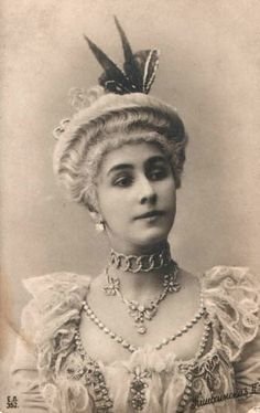Mathilde Kchessinska, Imperial Russian Ballerina and mistress to Czar Nicholas II and other members of the Romanov family.