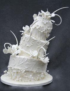 White Tropics by OC Cake Studio