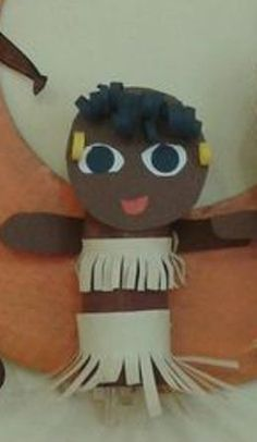 Paper Roll Crafts, Fictional Characters, Africa