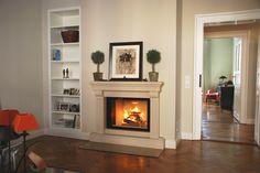 Traditioneller Heizkamin #Kamin #Ofen #Fireplace www.ofenkunst.de