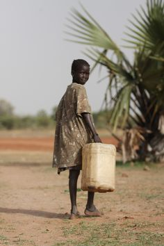 The journey to drinkable water is often long in South Sudan