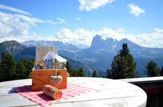 Is this not a great lunchspot in Val Gardena?