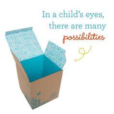 The Cardboard Box Costume: Infinite Possibilities | via The Honest Company blog #halloween2013