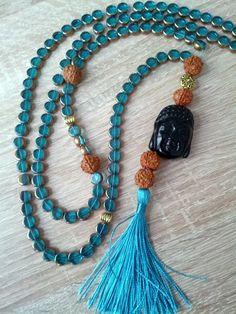 Willkommen in meiner Buddha - Kollektion !  UNIKATE: Buddha Malas ich wünsche Ihnen viel Freude an diesen wunderbaren Einzelstücken.  Jedes wurde von uns in Deutschland handgefertigt und ist die dieser Kombination einzigartig und nur bei uns zu bestellen.  Ihre Online Juweliere  www.schmuck-engel.de Buddha Armband, Tassel Necklace, Amethyst, Yoga, Jewelry, Pink Quartz, Unique, Joy, Crystals
