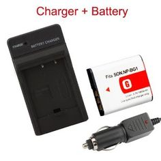 Np-bg1 Battery + Charger for Sony Cybershot Dsc-w55 W80 by Crazy Cart. $8.34. Features:   1. New generic Rechar Li-ion Battery   2. High   energy density, high recycle life,long life battery   3. Extra power for your   digital video camera / camcorder   4. High capacity / rechargeable Li-ion   battery with premium cell      Specifications:   1. Voltage:    3.7V   2. Capacity:1400mAH   3. Size:1.65 x 1.38 x 0.31 inch / 4.2 x 3.5 x 0.8   cm (L x W x H)   4. Packa...