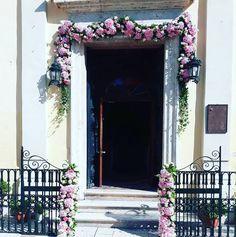 Pink Arch for a church decoration!  #arch #arches #pinkflowers #pinkarch #orthodoxwedding #wedding #flowerdesign #αψιδα #εκκλησια #γαμος #στολισμοςγαμου #λουλουδια #rizosgarden Wedding Videos, Post Wedding, Wedding Arches, Wedding Flowers, Start Tv, Corfu Holidays, Wedding Window, Floral Bouquets, Wedding Planning