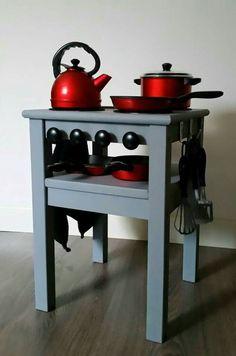 Keukentje van ikea krukje
