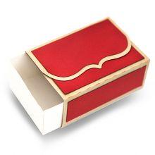 folding bracket flap sliding box