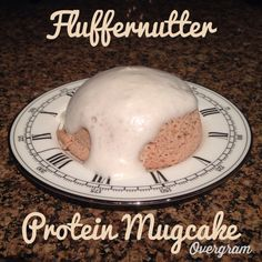 Fluffernutter Protein Mugcake! Sugar free, gluten free and low calorie. 162 calories total.