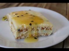 Resep-video: Grenadella-yskastert | Maroela Media Tart Recipes, Fudge Recipes, Salad Recipes, Dessert Recipes, Passion Fruit Cake, Peppermint Crisp, Tartaric Acid, Apple Desserts, Recipies