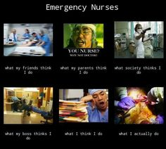 I will always be an ER nurse its the best job ever!!!