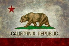 The Bear Flag is the official flag of the state of California. The precursor of the flag was first flown during the 1846 Bear Flag Revolt and was also known as the Bear Flag.