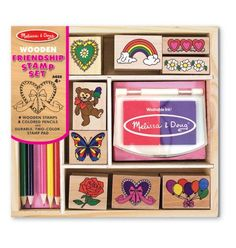Inspire creativity in your kids with Melissa and Doug toys.