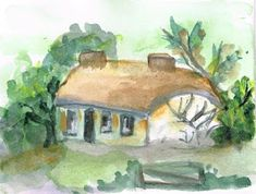 justlillatwo Decorated Envelopes, Country Cottages, Old Paper, Handmade Beads, Vintage Looks, French Country, Arts And Crafts, Painting, Painting Art