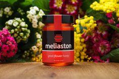 flower greek honey - MELIASTON Greek Flowers, Honey, Packaging, Wrapping