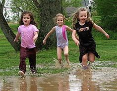 Let them play in the mud