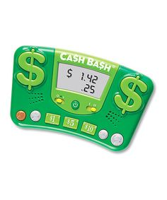 Take a look at this Cash Bash Electronic Handheld Flash Card Game by Learning Resources on #zulily today!