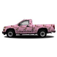 Realtree Camo Compact Truck/SUV Size Vehicle Wrap Xtra Pink