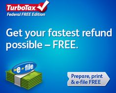 #TurboTax Federal Free Edition. Get your fastest refund possible free