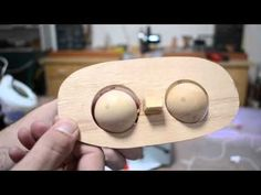 Hand Controlled Mechanized Puppet Eyes Tutorial