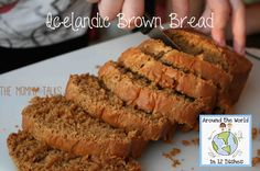 easy and tasty icelandic brown bread, no yeast recipe Scandinavian Recipes, World Thinking Day, Brown Bread, Green Eggs And Ham, Cooking With Kids, Geography, Iceland, Breads, Homeschool