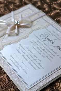 Baptism Invitation Announcement by DreamMakersInvites on Etsy, $125.00